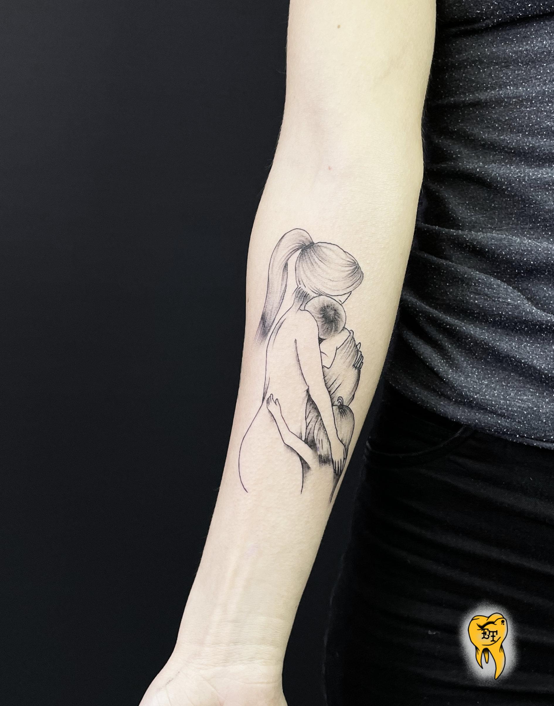 Mamma Tatuering